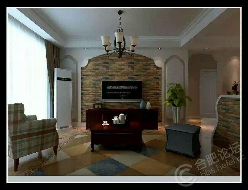 文化砖电视背景墙