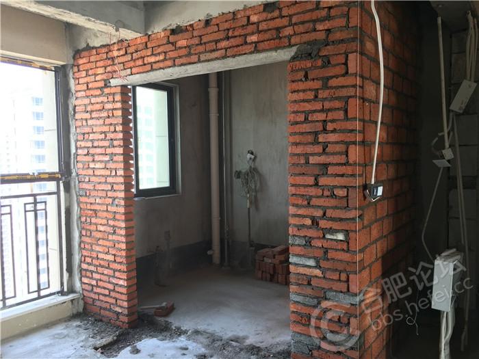 厨房墙砌好.JPG