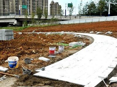 合肥淮北路公园开工建设