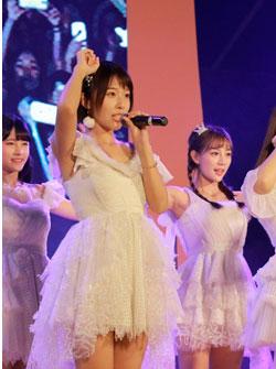 SNH48亲临合肥助阵华润万象城一周年庆音乐节