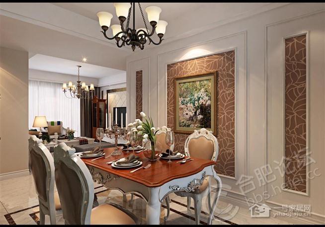 简约的设计和欧式家具的摆设更显高贵和大方的格调