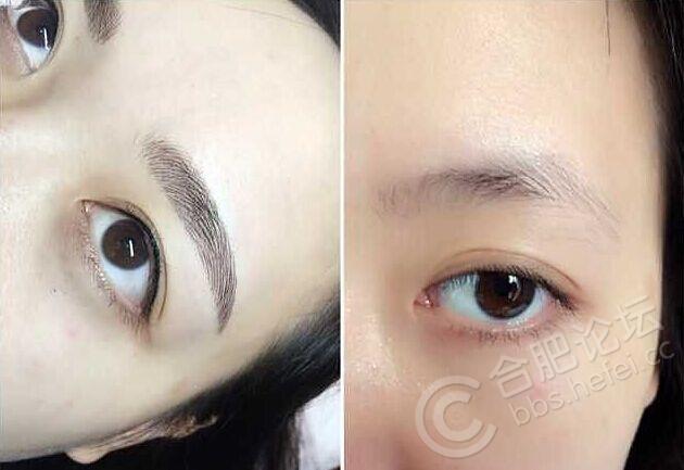 韩式半永久性纹眉