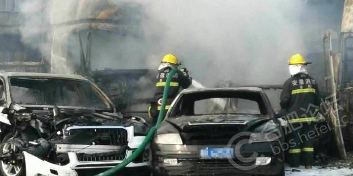 直击安徽高速车祸现场 第一手现场图和航拍图流出,画面惨烈