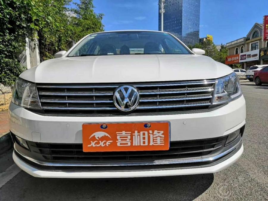 二手准新大众朗逸 17款1.6自动舒适版 首付一万五提车