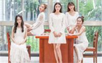 美女军团六月主题大片闪亮亮登场,白裙子女神们来啦