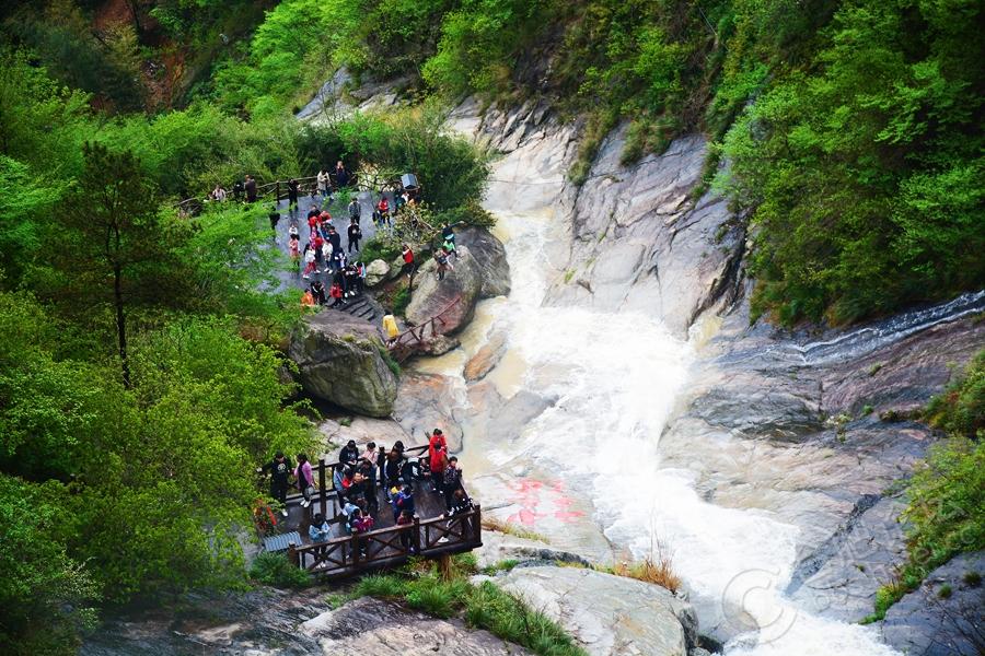 中国安徽白水湾高空玻璃桥景区欢迎您! - 旅游信息