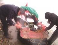 男子欲从洞庭湖划船到杭州
