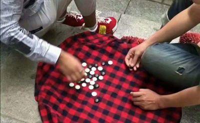 实拍:格子的外套用来下五子棋真是第一次见