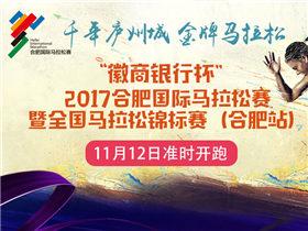 2017合肥国际马拉松11月12日开跑