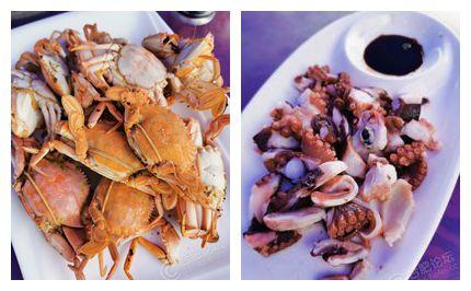 晒晒我在岛上的午饭,海鲜吃到我快要爆了