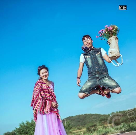 我的婚照我做主!就是要开心玩!