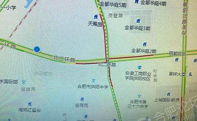 【提醒】五号线施工,蒙城路二环路口道路封闭