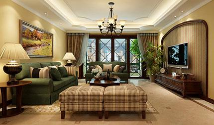 【家风尚第三期】义银装饰5.8万半包,145平美式乡村,享受情调高贵的家居生活